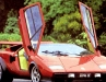 Walter Wolf\'s Countach red